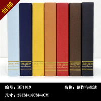 Wholesale 10pc Decoration Wall Dies Mail Props Books Fake Books Simulation Books Decorative Books Props Books