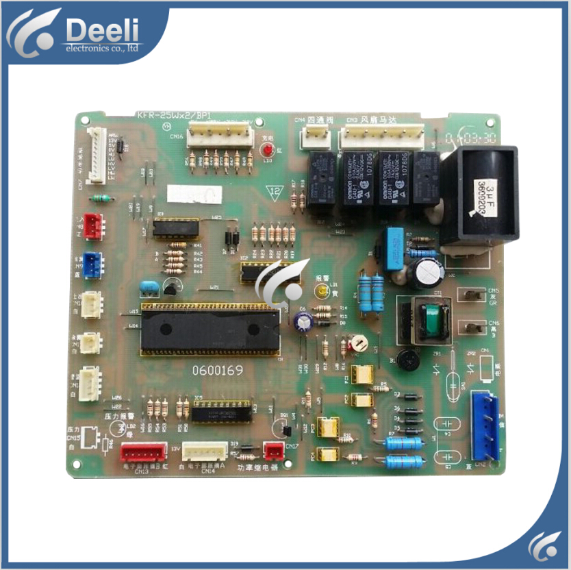 ФОТО  95% new for air conditioning Computer board KFR-25Wx2/BP1 FR25GW/BPX2 0600169 control board