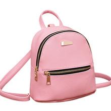 Multi-Function Women Backpack lady Leather Backpack Female School Rucksack College Shoulder Satchel Travel Bag#YL
