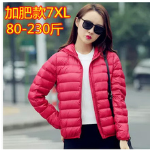 Parkas For Women Winter Nice Pop New Ultra Light Thin White Duck Down Jacket Abrigos Mujer Plus Size 3XL Candy 15 Colors HJ225