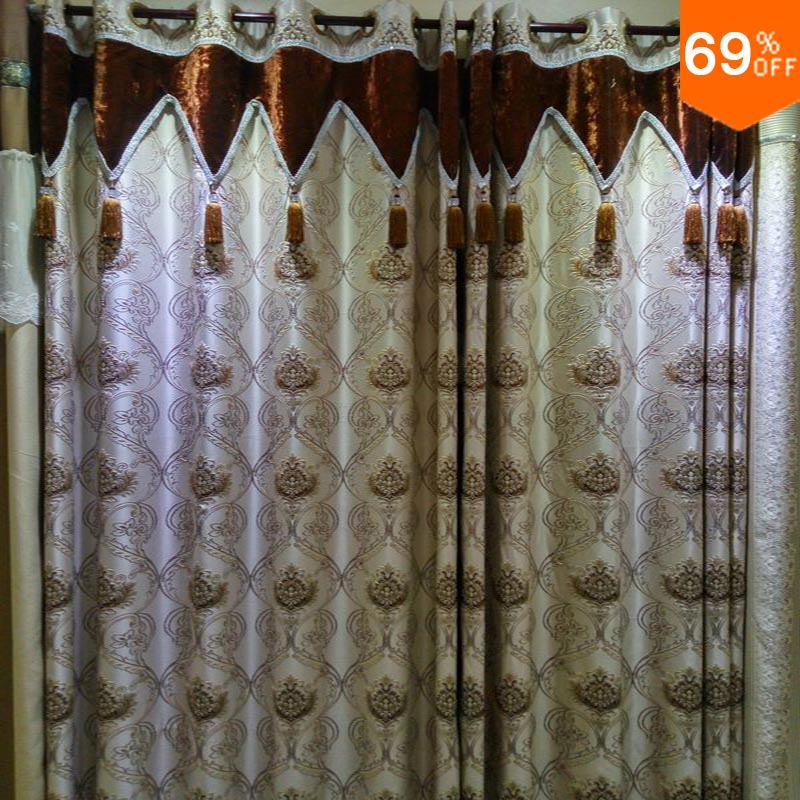 Nice New Simple Luxurious Rod Stick Hang Style Living Room Curtains Of Restaurant Curtain Classic Elegant Rooms