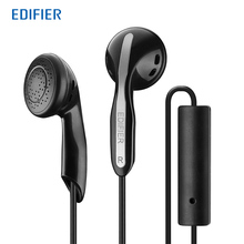 Edifier P180 высококачественные наушники высокая производительность стерео бас в-наушники с микрофоном для Iphone мобильный телефон