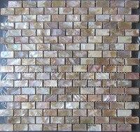 シェルモザイクタイルナチュラルキッチンbacksplashのタイル壁卸売浴室床タイルbacksplashの母の真珠のタイ