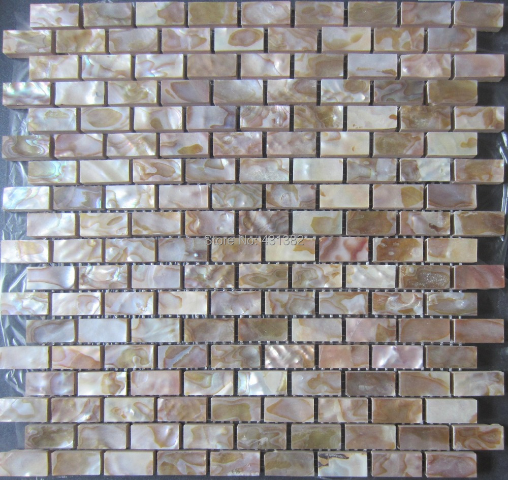 Shell mosaic tile natural kitchen backsplash tiles wall wholesale     Shell mosaic tile natural kitchen backsplash tiles wall wholesale bathroom floor  tile backsplash mother of pearl tile in Wall Stickers from Home   Garden on