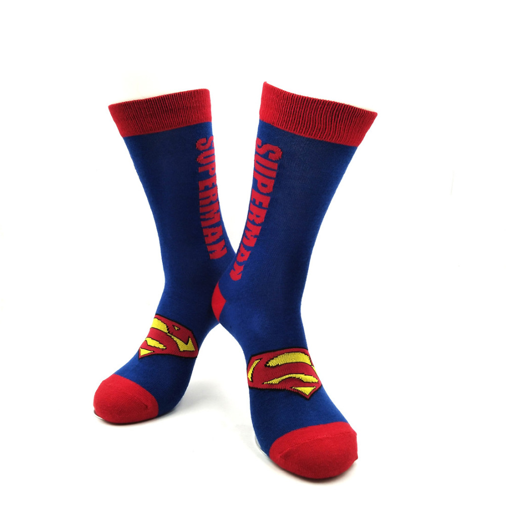 HOT Sales Super Heros Long Socks Deadpool Captain Socks Male Hot Sale Brand New Long Soks Cheap Sale Warm Winter Socks