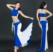 Sexy Women Belly Dance Costume Oriental Dancing Clothing top+skirt suits for Womens belly dance wear DW033