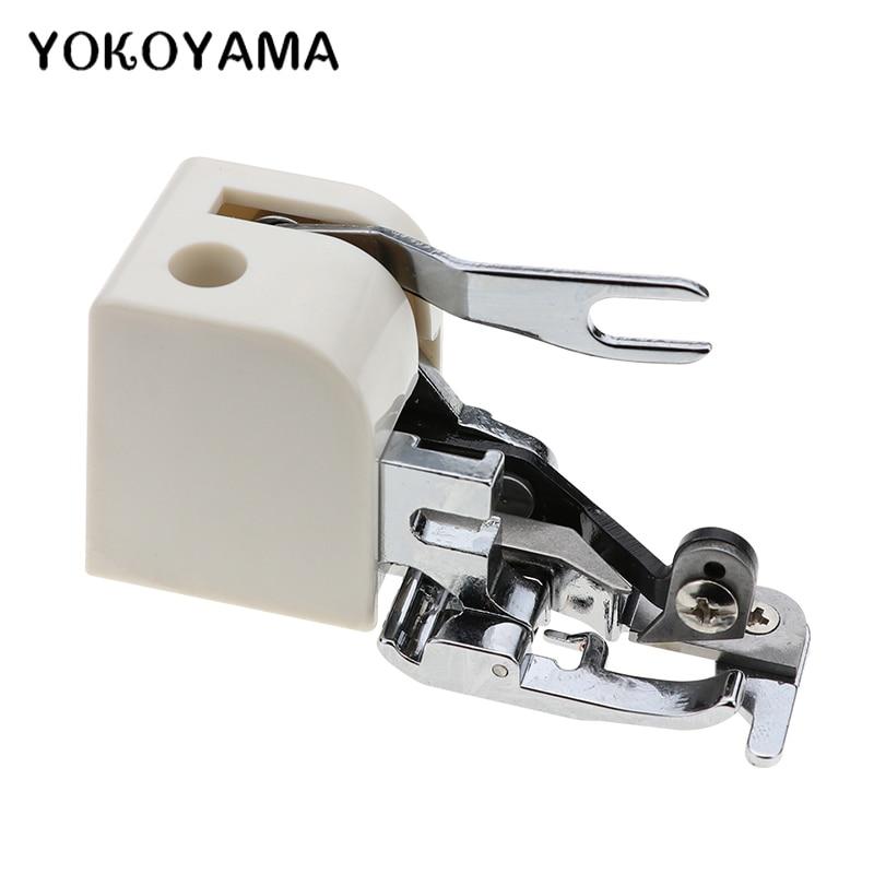 Боковой резак YOKOYAMA, оверлок, швейная машина, прижимная лапка, приспособление для всех низких ножек, Singer Janome Brother, бытовая Sewi