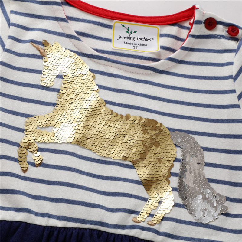 Baby Girl Clothes Unicorn Kids Dresses for Girls Girls Dress with Animal Applique Summer Princess Party Children Dress Vestidos 4