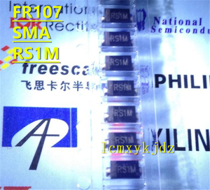 10Pcs/Lot , F1M=FR107 RS1M=FR107 1A1000V SMA ,New Oiginal Product New original free shipping fast delivery