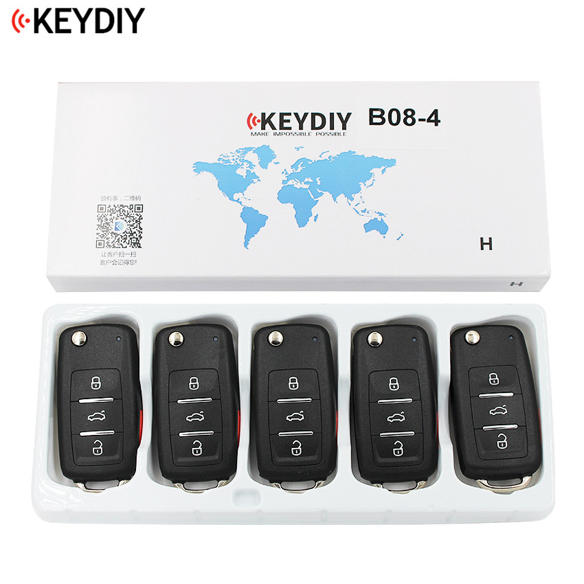 5 PCS LOT Original KEYDIY 3 Buttons B08 3 1 Universal Remote Control Key B Series
