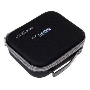 Image 2 - Lbkafa eva portátil bolsa de viagem armazenamento caso saco protetor para gopro hero 9 8 7 6 5 4 sjcam sj4000 sj6 yi câmera acessórios