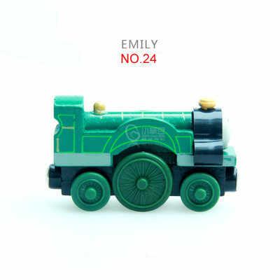 Emily Train Magnetic Wooden Trains Model Magnetic Toys Christmas Gift for Kids Children Fit Wood Biro Track