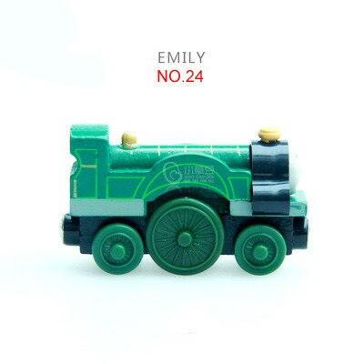 Emily Train Магнитные деревянные поезда модель магнитные игрушки Рождественский подарок для детей Дети подходят деревянные Biro Track
