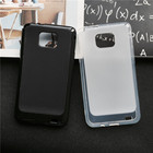 Soft Silicone Protective Back Cover Cases for Samsung Galaxy S2 S 2 SII i9100/S2 Plus i9105 TPU Mobile Phone Case Black Para