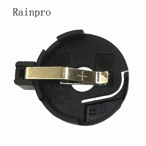 Image 1 - Rainpro 10 개/몫 CR2032 CR2025 BS 3 배터리 홀더 2032 버튼 셀 홀더 소켓 케이스