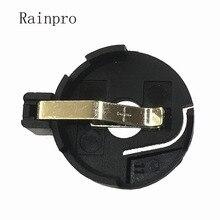 Rainpro 10PCS/LOT CR2032 CR2025 BS 3 battery holder 2032 Button Cell Holder Socket Case