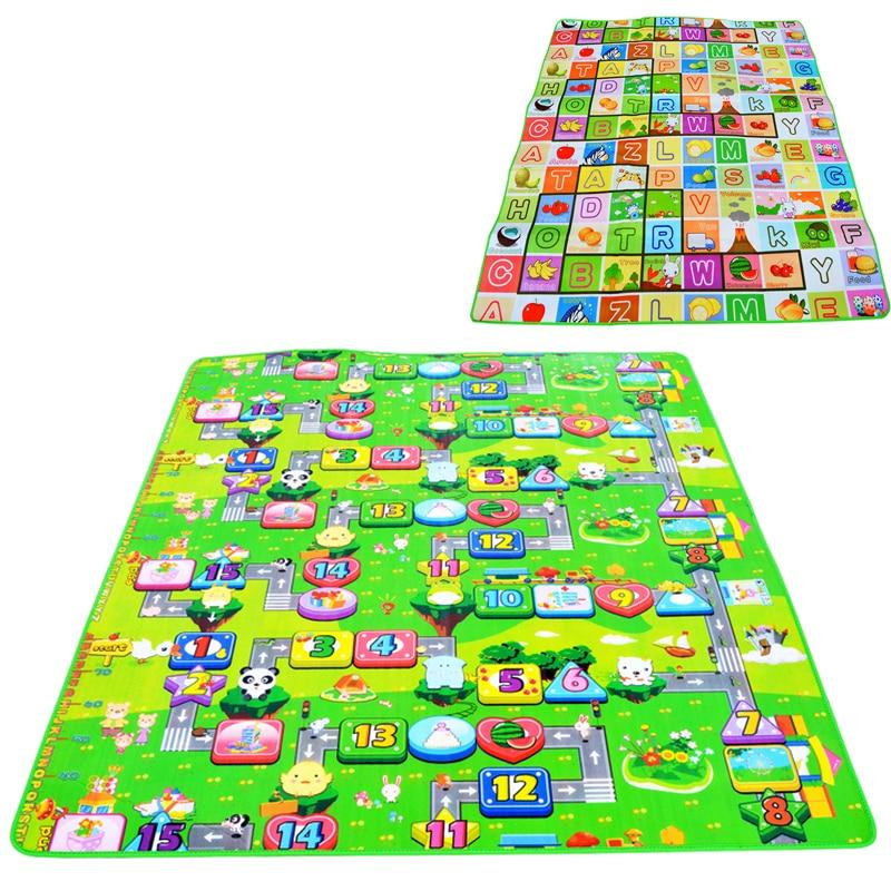 HTB1pYiKw7zoK1RjSZFlq6yi4VXah 1cm 0.5cm Thick Baby Crawling Play Mat Educational Alphabet Game Rug For Children Puzzle Activity Gym Carpet Eva Foam Kid Toy