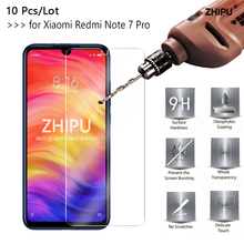 10 Pcs Tempered Glass For Xiaomi Redmi Note 7 Pro Screen Protector 2.5D 9H Protective