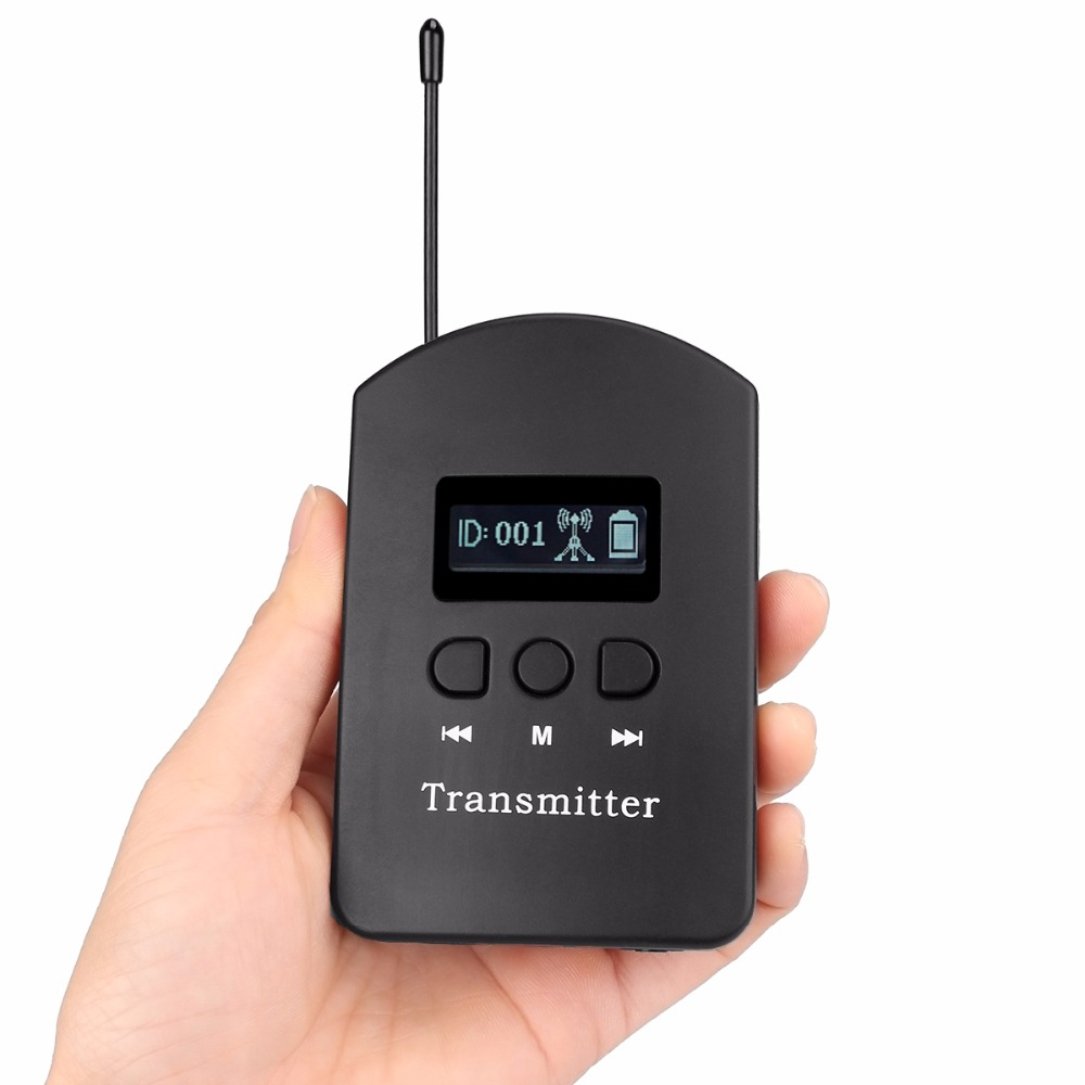 ANDERS UHF Wireless Transmitter 200 Channels For Tour Guide System Wireless Meeting Church Simultaneous interpreting F4521A anders uhf wireless transmitter 200 channels for tour guide system wireless meeting church simultaneous interpreting f4521a