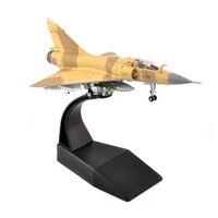 kids toys 1/100 Airplane Dassault Mirage 2000 Alloy Model Aircraft Model Diecast Aircraft Plane Model Alloy AirlineToy