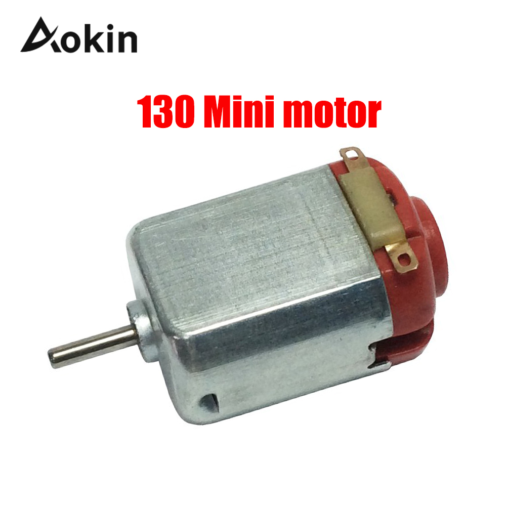 1Pcs 130 DC Motor For DIY Four-wheel Motor Scientific Experiments For Model Ship Toys DIY Appliance Mini Motor Convenient