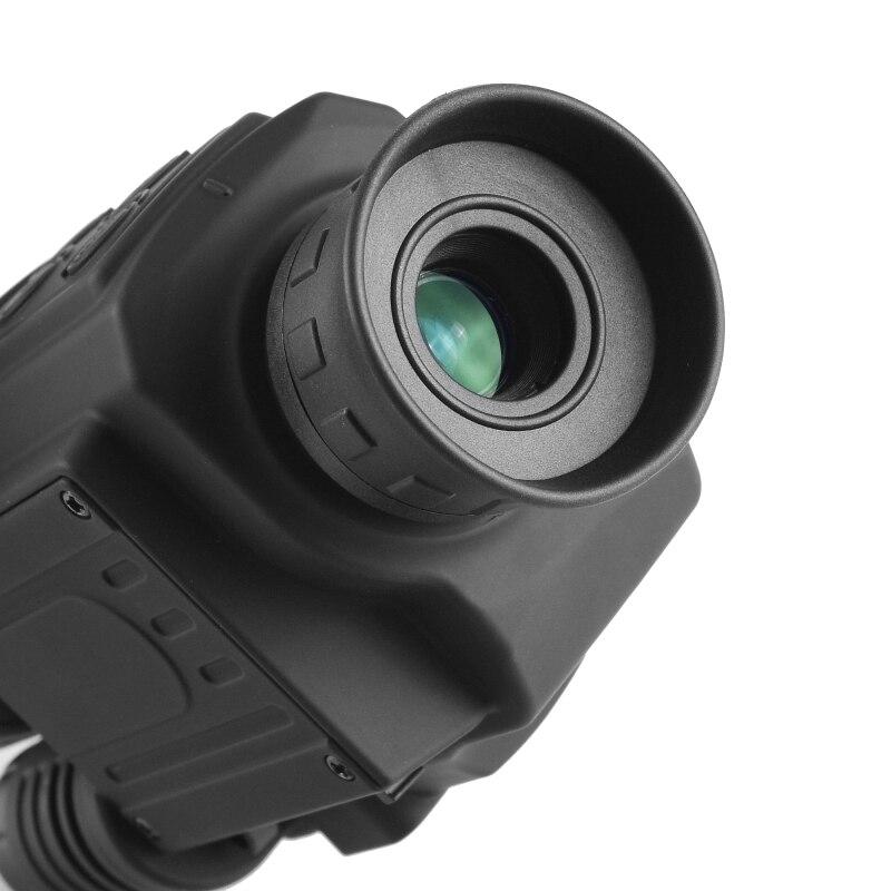 2019 mise à niveau infrarouge Vision nocturne monoculaire portée pour la chasse de nuit haute durée longue portée hd avec caméra intégrée prise de vue - 3
