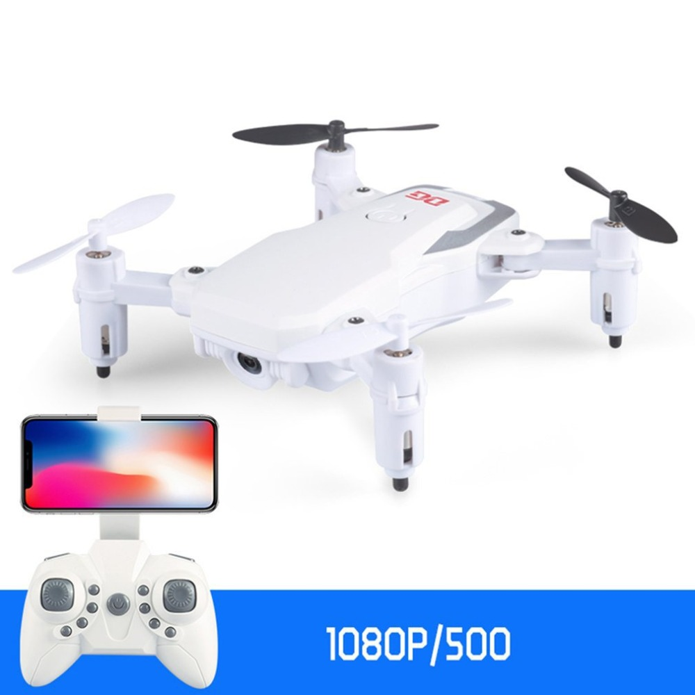 DG186 Mini RC 2.4G cFoldable FPV RC Quadcopter 720P HD Camera Altitude Hold 500mah battery 10mins flying time 50m remote distanc