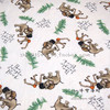 140X100cm The Jungle Book Elephant White Cotton Fabric For Baby Boy Clothes Bedding Set Cushion Cover