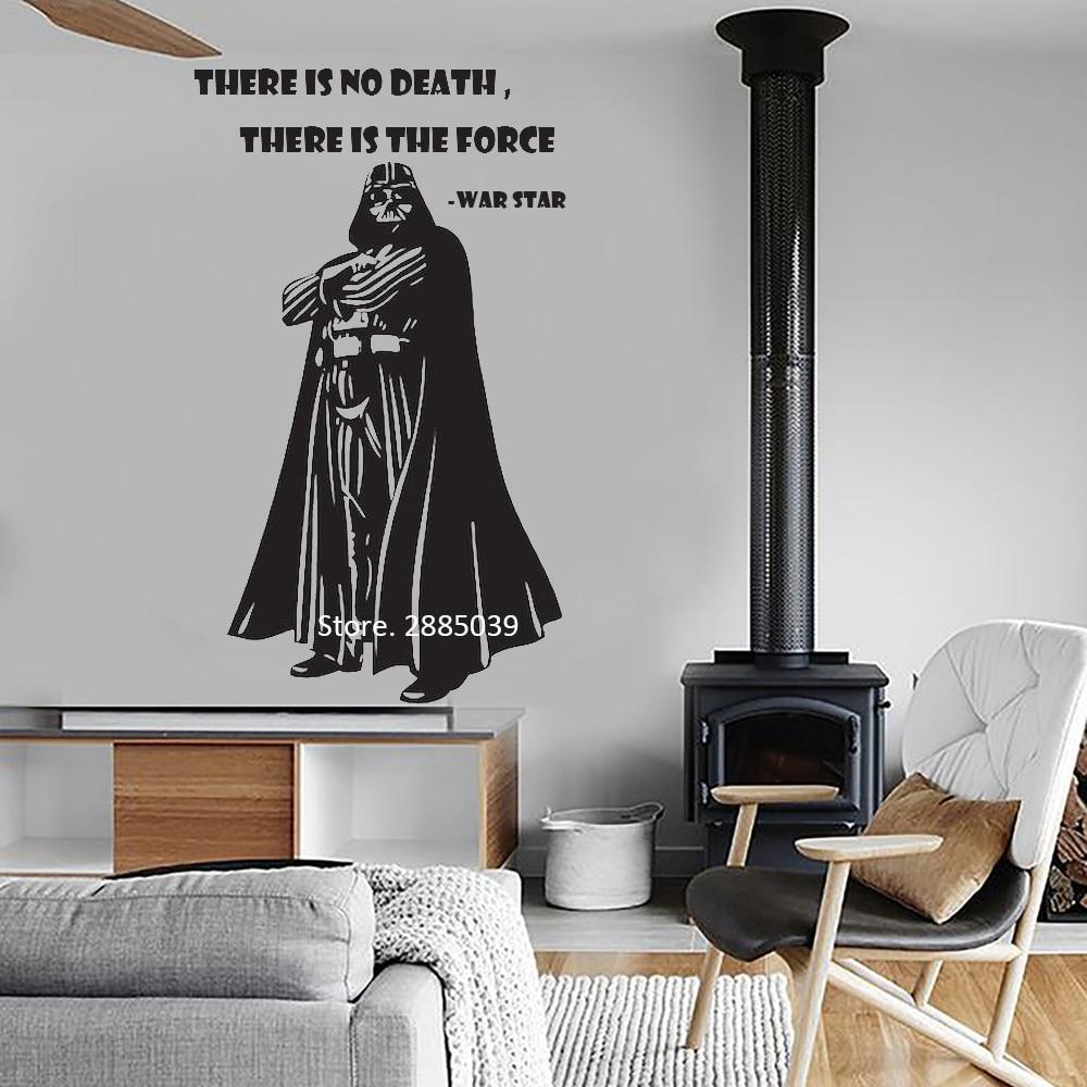 War Star Movie Quote Darth Vinyl Wall Sticker Home Design