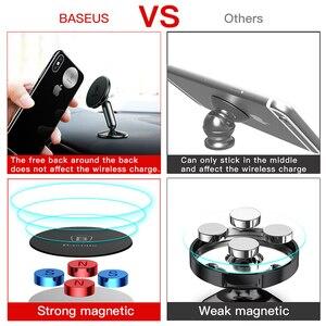Image 3 - Baseus Universal Auto Halter Für Handy Halter Stehen in Car Mount Handy Halter Für Auto 360 Grad Magnetische Auto telefon Halter
