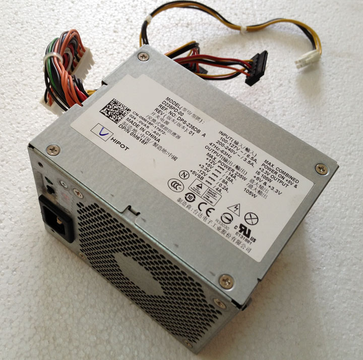 Spot C521 GX620 GX520 745 740DL Power supply 280P-01 H280P-01