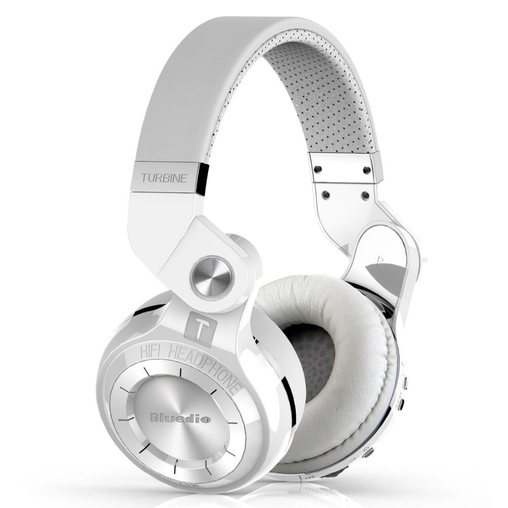 Bluedio T2S Bluetooth pieghevole cuffie BT 4.1 wireless Bass auricolare con microfono per la musica android telefono accessorio