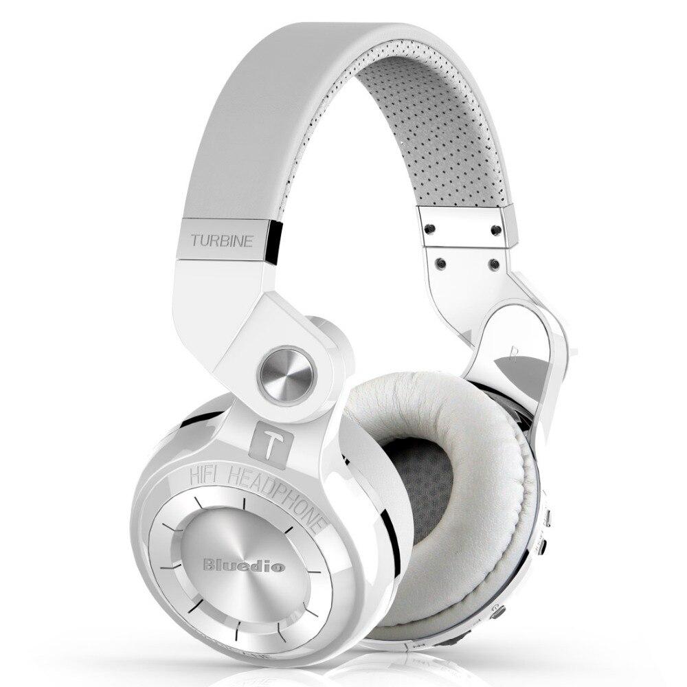 Bluedio fones de ouvido Bluetooth dobrável DO T2S BT 4.1 Baixo fone de ouvido para celular de música com microfone sem fio