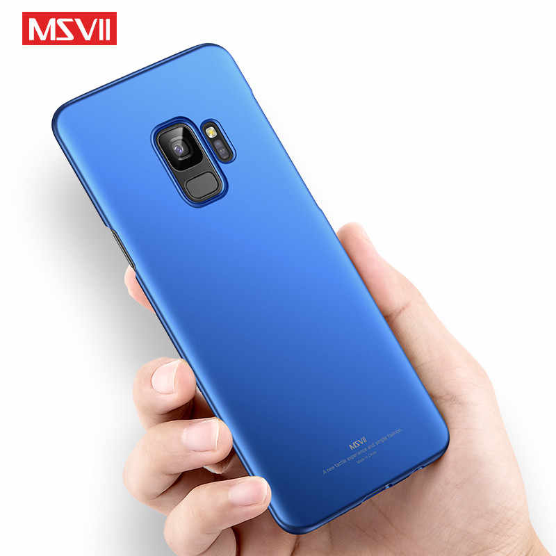 cheaper 3aece d5ccb For samsung galaxy S9 case cover MSVII luxury simple stylish Back cover  Case For samsung galaxy S9 Plus cases S 9 phone case