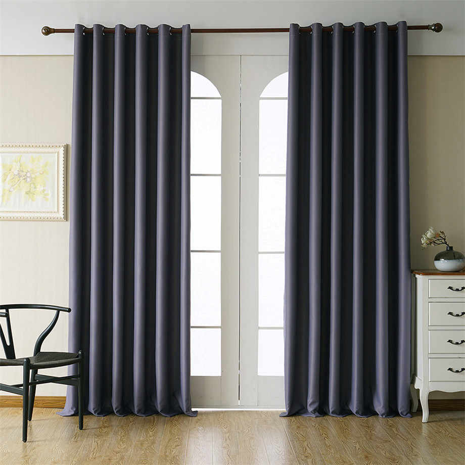 Byetee Modern Blackout Curtains for Living Room Curtains for Bedroom Customize Finished Cortinas Kitchen Curtain Drapes