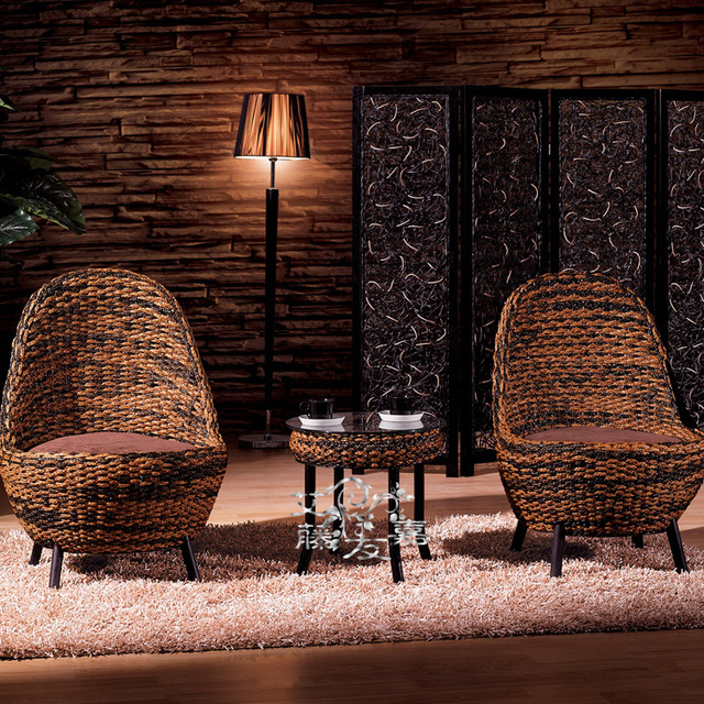 Rattan Cane Rattan Furniture Factory Direct Three Piece Combination