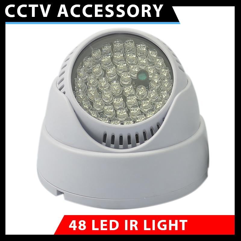 1 pièces 48 LED illuminateur lumière CCTV IR infrarouge Vision nocturne caméra de Surveillance sécurité de la voiture