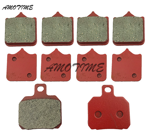 Motorcycle ceramic front and rear brake pads For Benelli BN600 2013 2014 Cafe 899 2010-2012 11 Century RAcer 899 2011-2012 motorcycle front and rear brake pads for honda vt250fl spada castel 1988 1990
