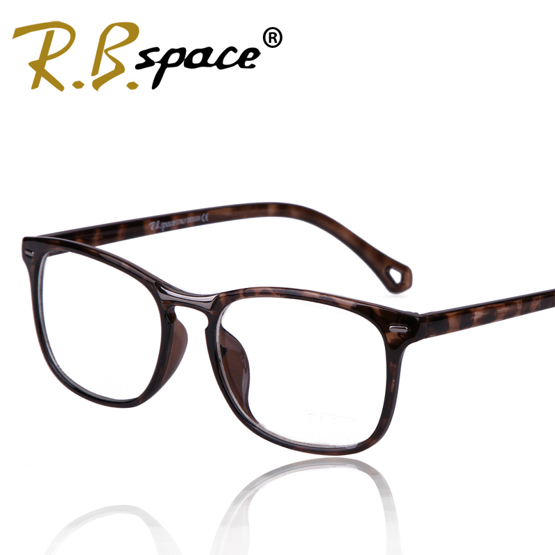 RBspace Brand 2017 Fashion computer radiation-resistant glasses female Men pc mirror goggles anti-fatigue function plain mirror