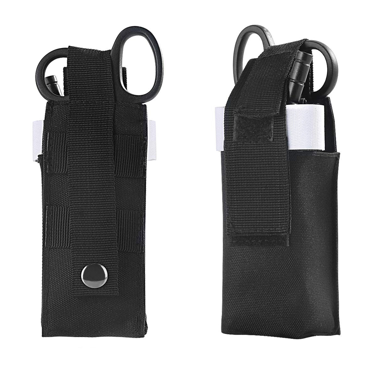 One Hand Tourniquet Trauma Shear Molle Pouch First Aid Kit for Car Vehicle Outdoor Camping Hiking in Outdoor Tools from Sports Entertainment