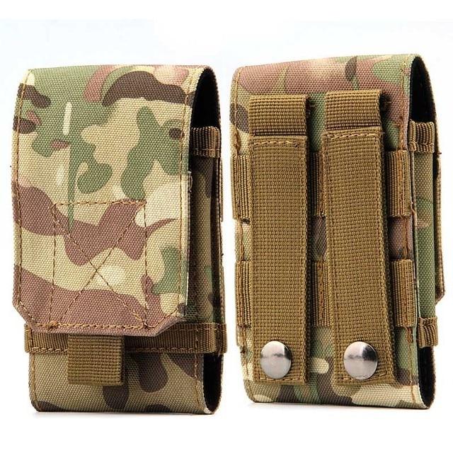 Nylon Military Tactical Army Pouch Case For iPhone 5/SE/6/6S/7 Plus HTC Redmi Note 3 Xiaomi Meizu Pro 6 Cubot One Plus 3 ZUK
