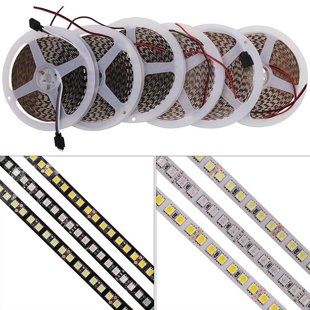 5mm Pcb Led Tape 5730 Light Box Backlight Flexible Strip 5630 Circuit Board Waterproof China Rigid Dc 24v 5050 120leds M Black White