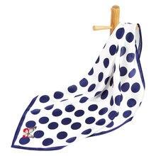 Чистый Шелковый шарф, женский шарф, платок в горошек, шарф с принтом, женский шелковый шарф, бандана на шею, квадратный шелковый платок для мужчин