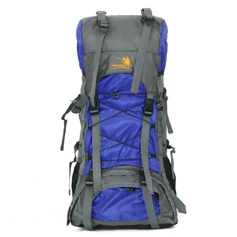60L grand sac à dos unisexe pour voyage 5 style noir/bleu/vert/Orange/rouge sac à dos sac d'alpinisme