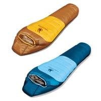 Теплый зимний спальный мешок на открытом воздухе спортивный походный туристический спальный мешок для взрослых