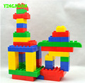 46pcs/pack Kids Big Size inter-locking large colored Plastic Educational Building Blocks toys Kits Sets for kid's Creativity