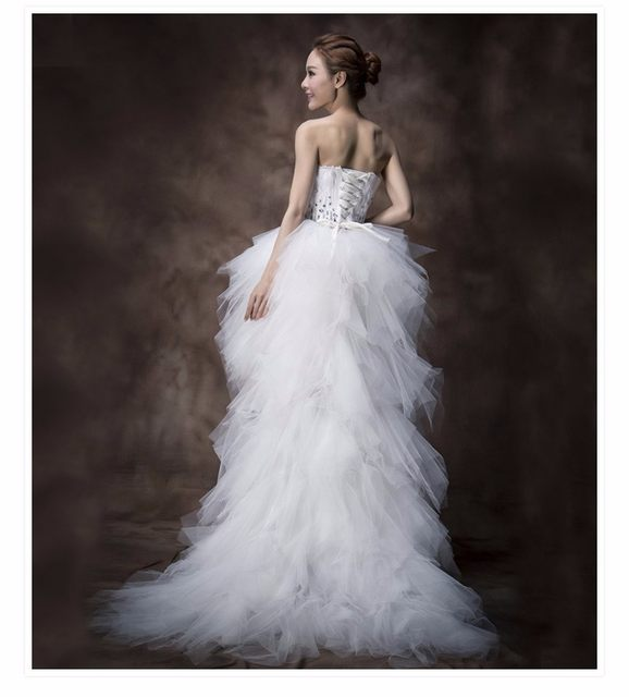 Online Shop Fishday Evening Dress Black Sweetheart Front Short Long ...