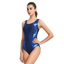 Backless Bodysuit Bathing-Suits Sport Swimwear Plus-Size Shorts Female Women Solid