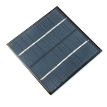 BUHESHUI 2W 9V Solar Cell Polycrystalline Solar Panel DIY Solar Charger For 6V Battery Solar System 115*115*3MM High Quality