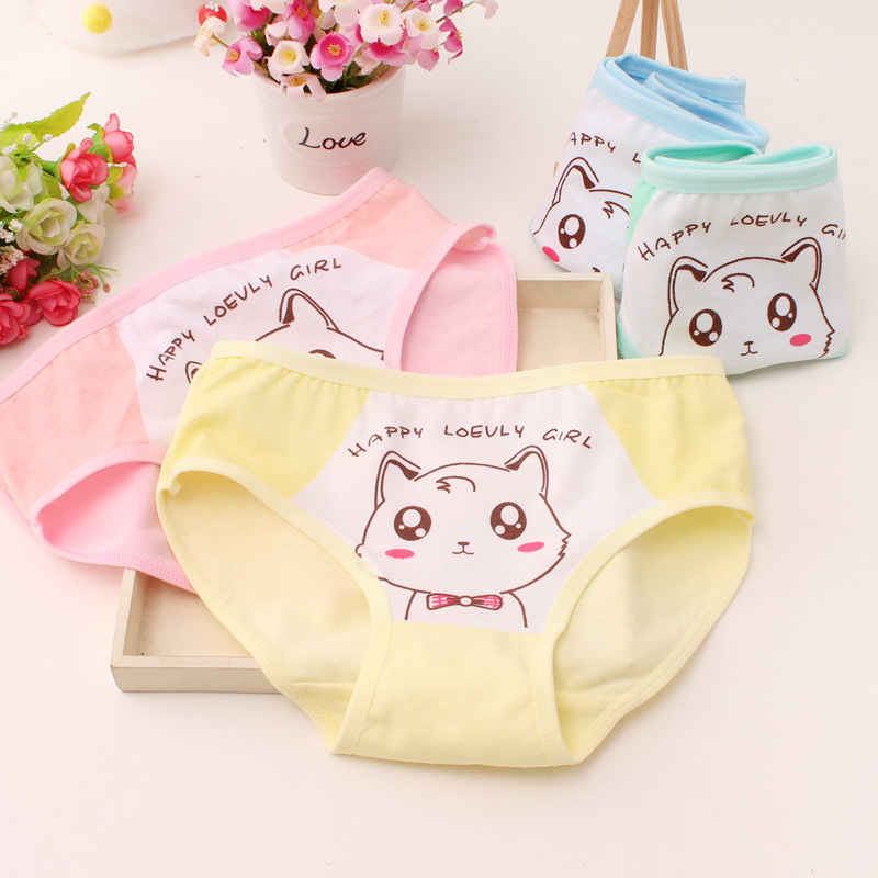 3pcs Girl Underwear Girl Briefs Panties Child's Underwear Pants For Girls Underpants Kids Underwea Calcinha Infantil
